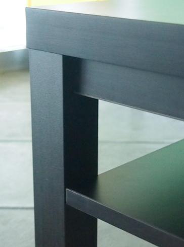 応接センターテーブルの組み立て