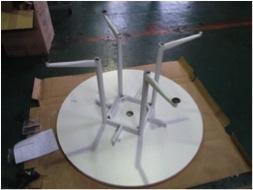 OAラウンドテーブルの組み立て