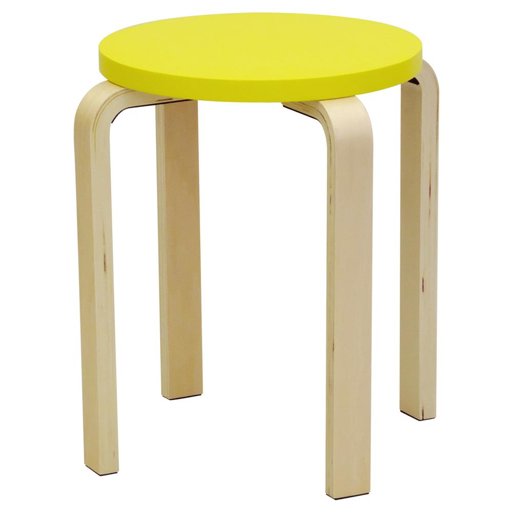 丸椅子イエロー