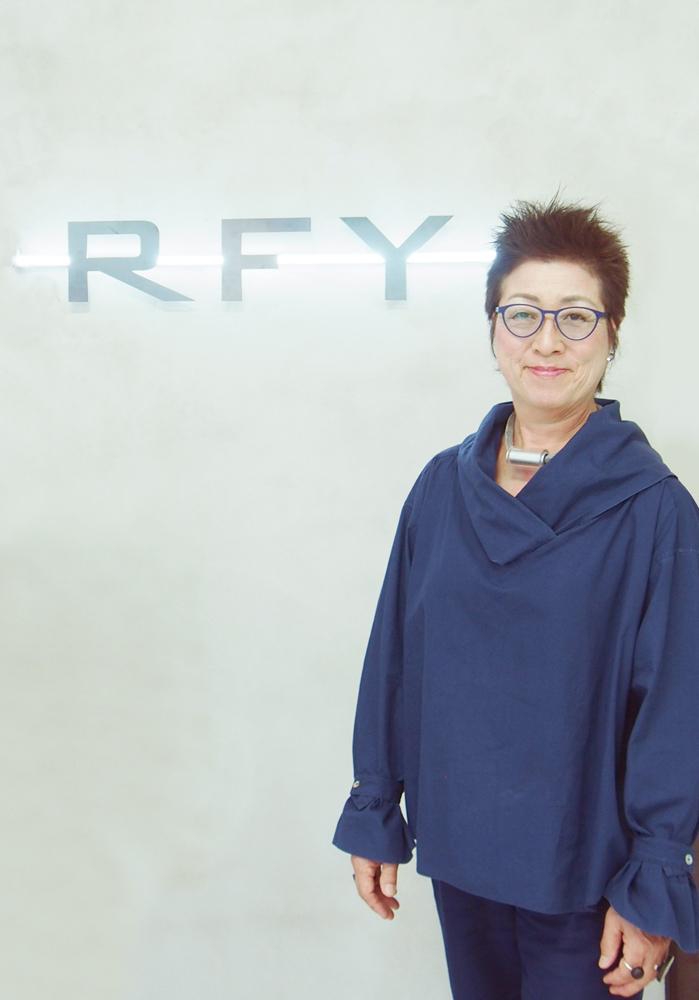 アール・エフ・ヤマカワ(株)代表取締役社長 山川富喜子
