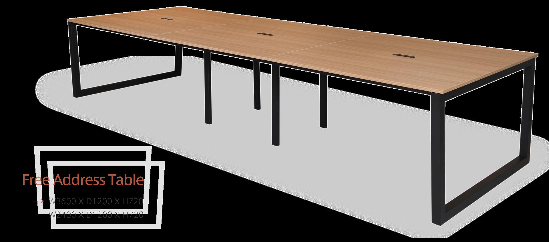 リスムフリーアドレステーブル