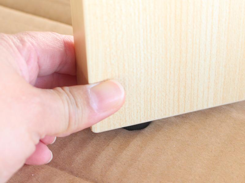 木製新聞掛けスナップタイプの組み立て