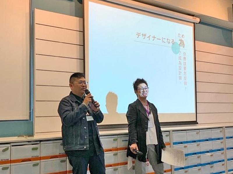 台湾の大学での社長講演