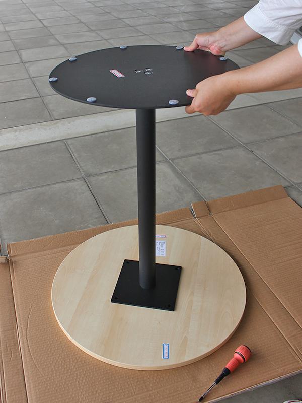 リフレッシュテーブル3の組み立て