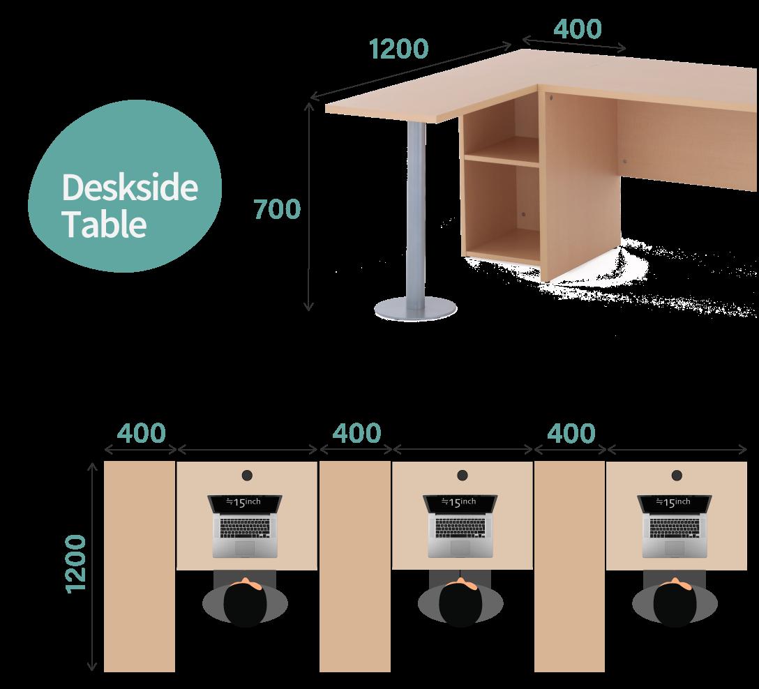 サイドテーブル使用イメージ