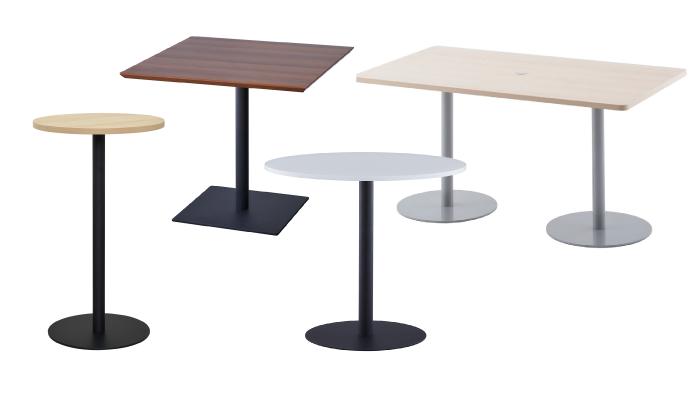 1本脚テーブル