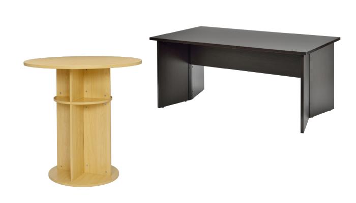 パネル脚テーブル