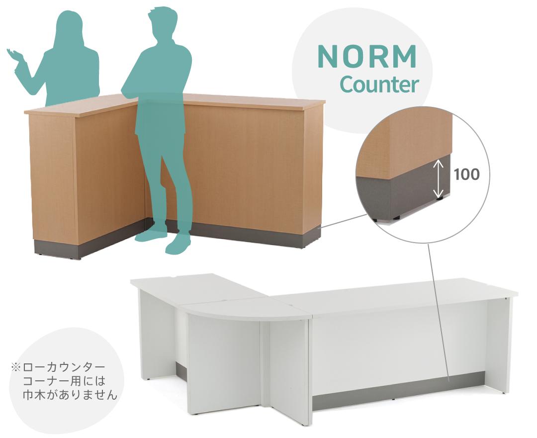 ノルムシリーズカウンター