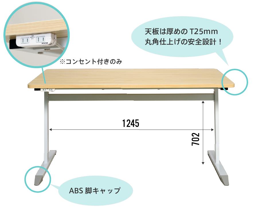 CTBT字脚テーブルのディテール