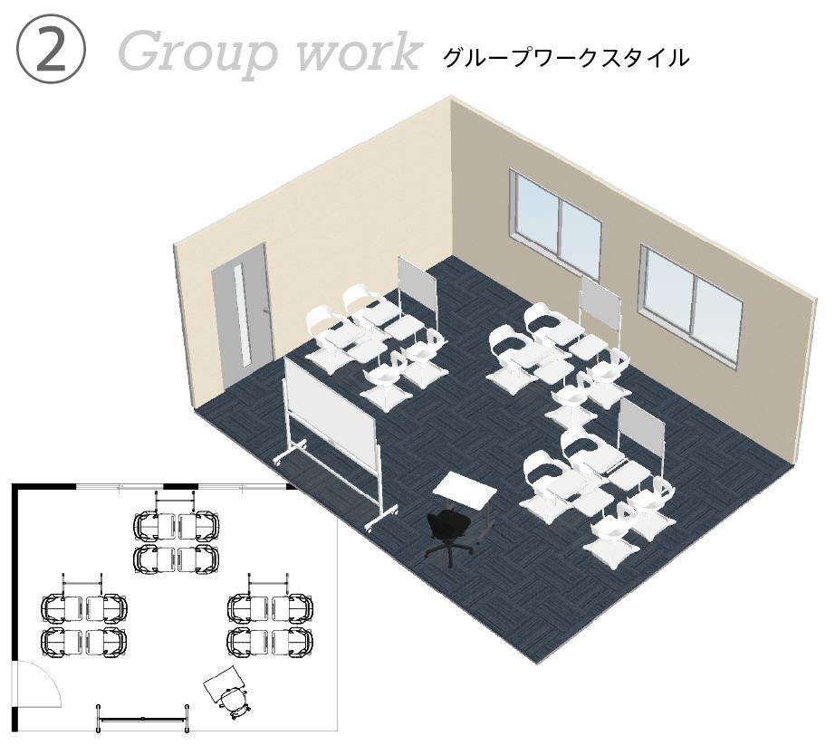 グループワークレイアウト例