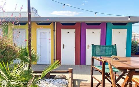 イタリアの海の家